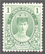 Newfoundland Scott 104 Mint VF (P13.8x14)